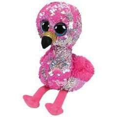 Flippables Small - Pinky le Flamant Rose - 15cm
