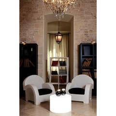 Salon CARACAS - 2 fauteuils et table lumineuse