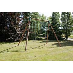 Portique pour enfant en bois YUCCA L 281.0 l 403.0 H 325.0 cm