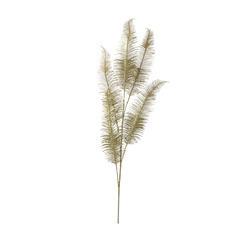 Fleur artificielle : Tige plume Or - H.85 cm
