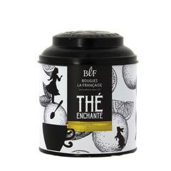 Bougie parfumée dans boîte à thé 'Pain d'épices' 250g