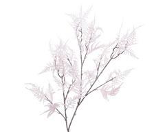 Branche asperge en plastique avec floque 10x43x104cm