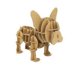 Bulldog carton à assembler 12 x 10 x 8 cm