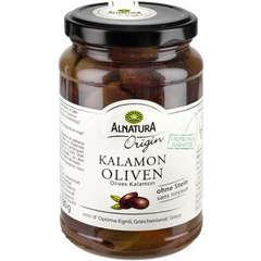 Olives noires bio Kalamon , 350G