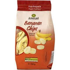 Chips de banane  bio 150G