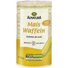Galettes de maïs bio, nature 110G, san gluten