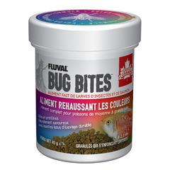 Granulé poissons bug bites T.M/L 45g