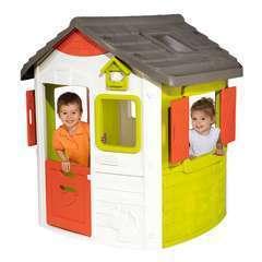 Maisonnette pour enfant plastique NEO JURA LODGE L115,4xl123,3xH132 cm