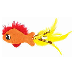 Jouet Feather Fish pour Chats