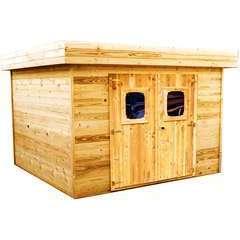 Abri de jardin en bois 2 portes  - 8,47 m²