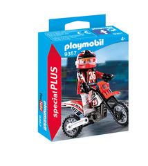 Figurine : Pilote de motocross
