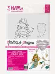 Kit bijoux sirène plastique dingue