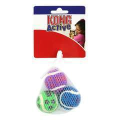 Petites balles de tennis KONG Active Tennis Balls w/Bells