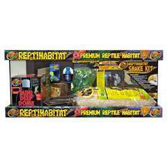 ReptiHabitat kit Serpent 76x30x30cm Zoomed