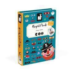 Magneti'Book Crazy Faces Garçon