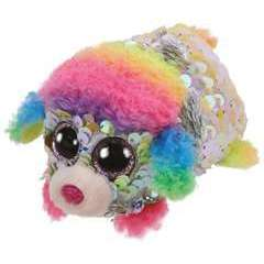 Teeny Ty Sequins - Rainbow le Caniche - 8 cm