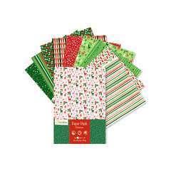 Paper Pack 96 feuilles A4 imprimées recto/verso Noël, 170g