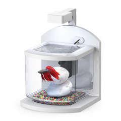 Aquarium Bettalux poisson d'eau douce, blanc - 18 litres