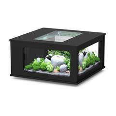 Aquatable 100x100 cm noir