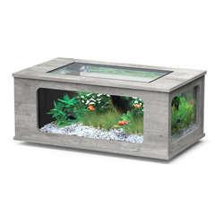 Aquatable 130x75 cm Bois couleur béton