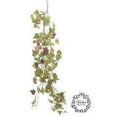 Chute de Lierre artificiel 'toucher naturel' coloris automne 130cm