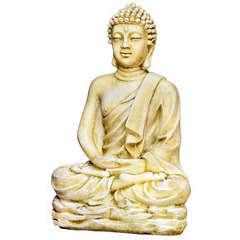 Bouddha Kadampa H.96 cm ton vieilli