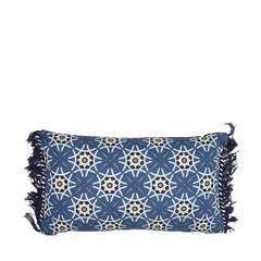 Coussin  bleu 50x30 cm