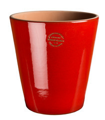 Pot Vaso red Candy 22x22cm