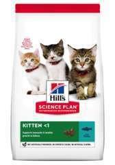 Croquettes pour chaton au thon Science Plan Kitten Hill's : 1,5kg