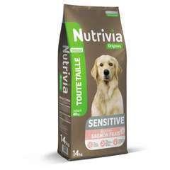 Croquettes chien adulte sensitives : 14kg