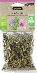 Herbes Aromatiques Feuilles & Fleurs de Mauve Bio Eden