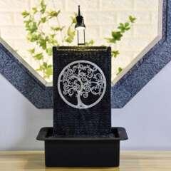 Fontaine d'Intérieur Arbre de Vie avec Eclairage Led