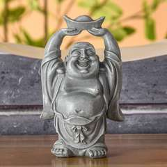 Statuette Décoration Feng Shui Bouddha Rieur