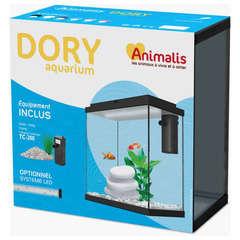 Aquarium Dory Équipé Blanc - 10L