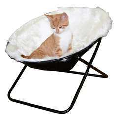 Panier pour chats Sharon Blanc - 50 cm