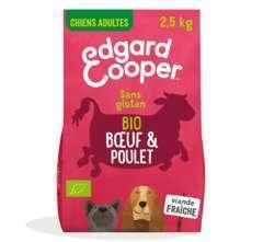 Croquettes Bio Chiens Adultes Sans Gluten 2.5kg Bœuf & Poulet Frais