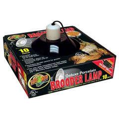 Réflecteur Ampoule Deluxe Porcelain Brooder Lamp pour Terrarium - 250W
