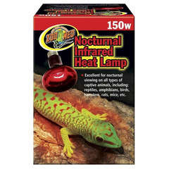 Lampe Chauffante Infrarouge pour Reptiles - 150W