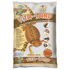 Sable Vita-Sand Blanc pour Reptiles - 4,5Kg