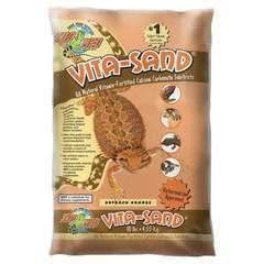Sable Vita-Sand Outback Orange pour Reptiles - 4,5Kg