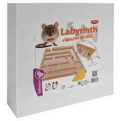 Labyrinthe avec Couvercle Transparent Stimulates Instinct pour Rongeur