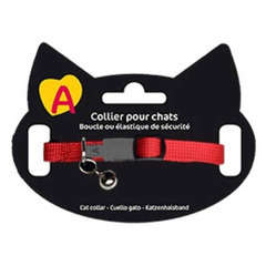 Collier Basic pour Chat - Rouge