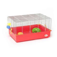Cage Équipée pour Hamster - 61x40x33cm