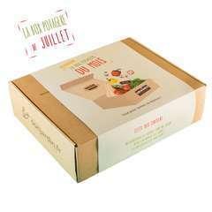 Box potagère de Juillet - Graines