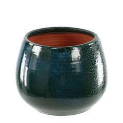 Pot Cancale blue wawe D.21 x H.21 cm