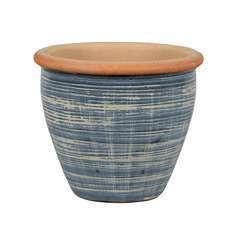 Pot SP-Pot 22B bleu  D.38xH.32cm