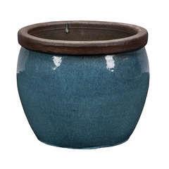 Pot Bonn 1-01Y vert glace D.46 x H.38 cm