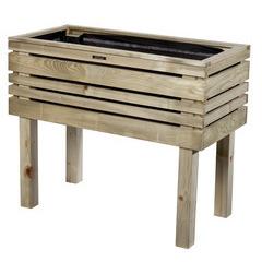Jardinière en bois - 100x50x80 cm