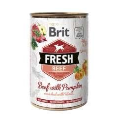 Brit Fresh au boeuf frais et citrouille pour chien 400G