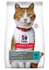 Croquettes pour chat Adulte stérilisé au thon 3kg